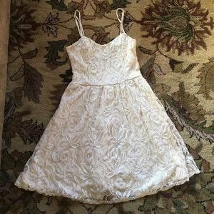 Nordstrom Dresses & Skirts - Cream lace dress from Nordstrom