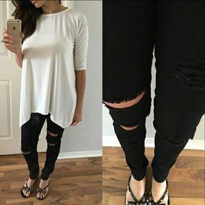 Boutique Denim - BOUTIQUE destroyed jeans