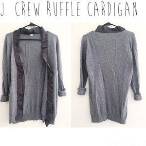 JCrew Cardigan S Gray