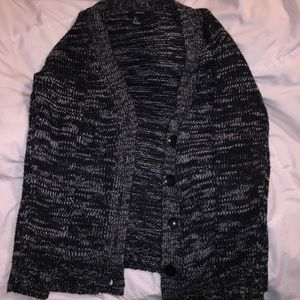 Black and white knit Forever 21 sweater