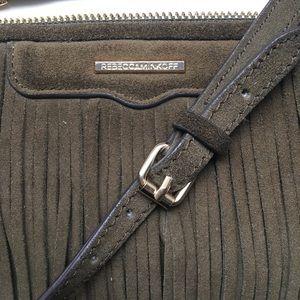 Rebecca Minkoff Bags - Rebecca Minkoff Finn Crossbody Bag in Olive Green