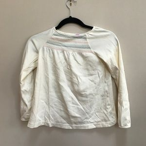 Gymboree Other - Gymboree White Long Sleeve Top