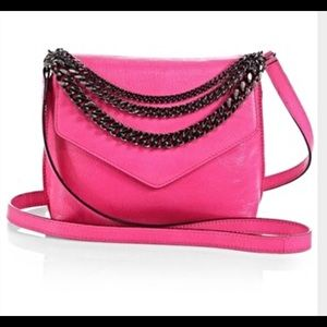 Milly Handbags - Milly Colin chain strap bag Fuscia.  NWOT