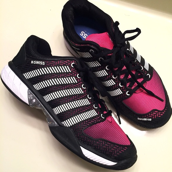K-Swiss Shoes   New Kswiss Black And