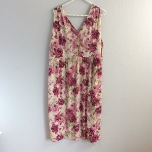 Avenue Dresses & Skirts - Avenue plus size pink floral dress