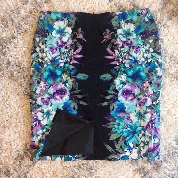 Roz & Ali Skirts - tropical pencil skirt 🌴
