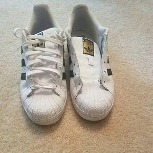 le adidas superstar scomparso lacci da scarpe poshmark