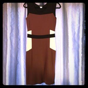 Color block, slimming, Venus dress