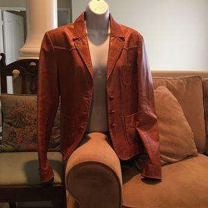 Genuine leather jacket by Earl Jean