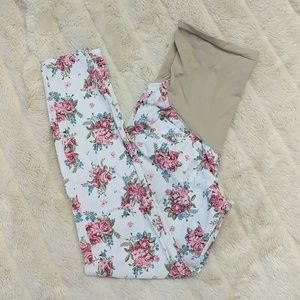 Wallflower Pants - Floral Maternity Jeans