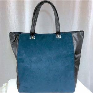 Estee Lauder Handbags - Estée Lauder Navy & Black Tote NWOT