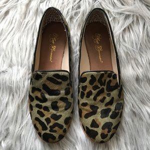 Matt Bernson Shoes - ✨Matt Bernson✨ Leopard Flat Loafers 7.5