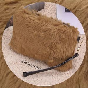 Handbags - Brown Fur Bag