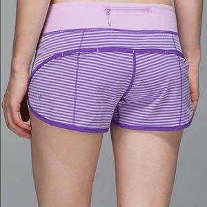 lululemon athletica Pants - Purple Speed Shorts