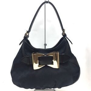 GUCCI Monogram Hobo with Bow