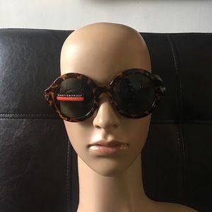 WILA Accessories - Vintage Style Round Tortoise Sunglasses 😎