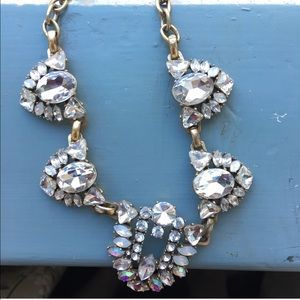 Crystal Statement Necklace from J. Crew