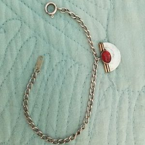 Jewelry - SOLD Sterling Silver Carnelian Bracelet