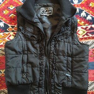 26 international  Jackets & Blazers - Cute Boho Vest -Black