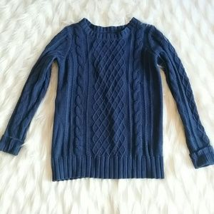 Old Navy Sweaters - Old Navy thick blue sweater