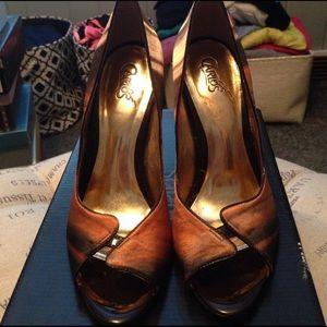 Carlos Santana Shoes - Carlos Santana brown heels size 7