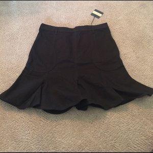 See by Chloe black skirt