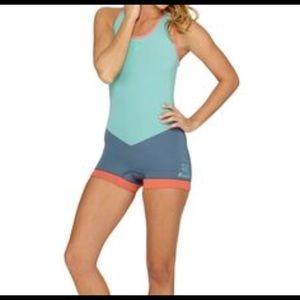 Roxy 2mm Cross Back Short John Wetsuit/Swimsuit
