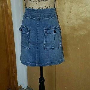 LOFT Dresses & Skirts - 🔴Jean front pocket Skirt🔴