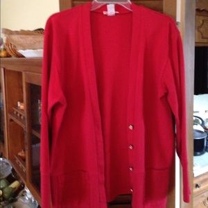Jackets & Blazers - Talbots Red Jacket.  🌺👠❤️