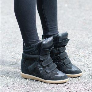 Isabel marant bekett wedge sneakers