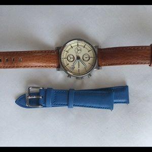 Fossil Accessories - Fossil original boyfriend watch + extra strap