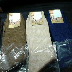 5 New Vintage Men Italian Socks