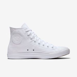 Converse Shoes - High Top All White Leather