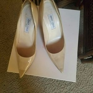 Jimmy Choo London Nude Pumps size 41