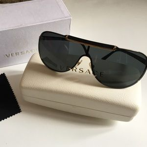 Versace sunglasses Black and Gold