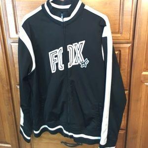 Fox Other - Men's Fox Racing Black White Track Jacket XL