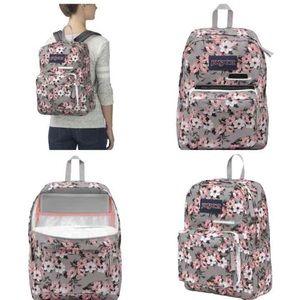 Jansport Handbags - NWT JANSPORT FLORAL BACKPACK