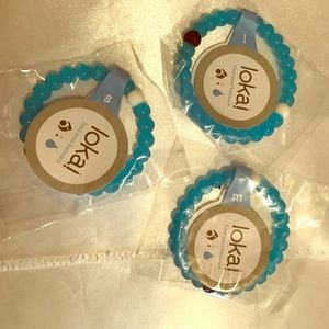 Lokai Jewelry - Lokai blue bracelet NEW limited edition pick size