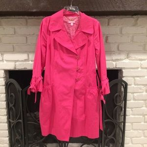 Lilly Pulitzer Jackets & Blazers - Pink Lilly Pulitzer coat