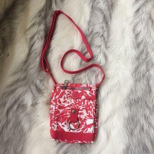 Kipling Handbags - Kipling pink crossbody bag