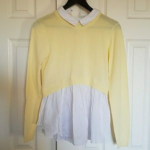 English Factory Tops - English Factory Sweater Top