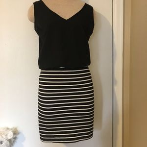 Necessary Objects Dresses & Skirts - 💝$5 BUNDLE SALE 💝black and white casual dress