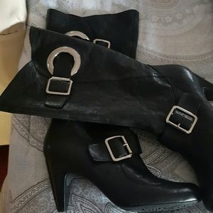 BCBGirls Shoes - NWOT distressed leather boots