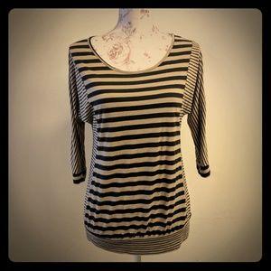 Tutta Bella Tops - Striped Maternity Shirt