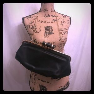 Melie Bianco Handbags - Huge Black Clutch