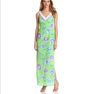 Lilly Pulitzer Dresses & Skirts - Lilly Pulitzer Harwin Silk Maxi Dress