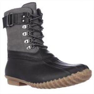 jambu Shoes - Jambio -Nova-Scotia-Black-Boots NWT blizzard NE