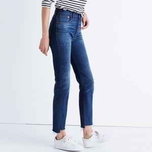 Madewell vintage jean step hem