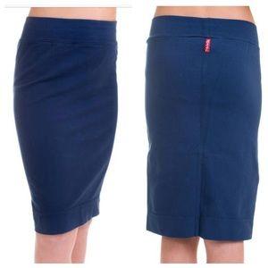 Hard Tail Other - Girls Hardtail Knee Length Navy Skirt
