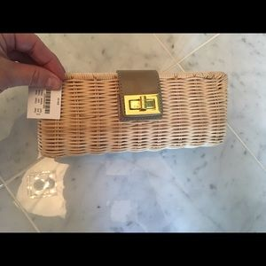 Handbags - JCF straw clutch